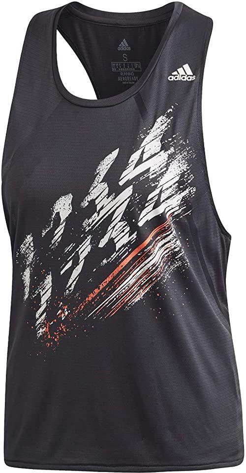 adidas Damski tank top Speed Tank Czarny XS