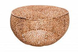 Stolik kawowy Leaf 80 miedziany