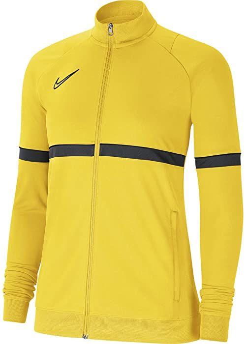 Nike Damska kurtka damska Academy 21 Track Jacket Tour żółty/czarny/antracytowy/czarny XS