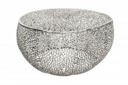 Stolik kawowy Leaf 80 chrom