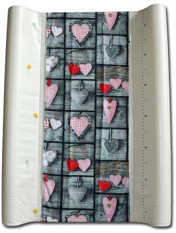 pokrowiec bawełniany uniwersalny z gumką na przewijak Shabby Chic