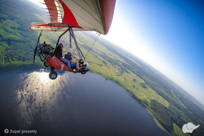 Lot motolotnią nad Gorzowem dla dwojga