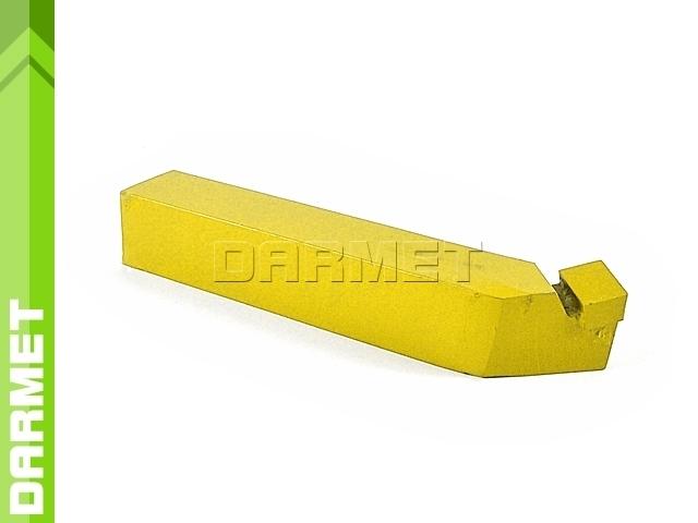 Nóż tokarski wygięty prawy NNZc ISO2, wielkość 2525 U20 (M20), do stali nierdzewnej