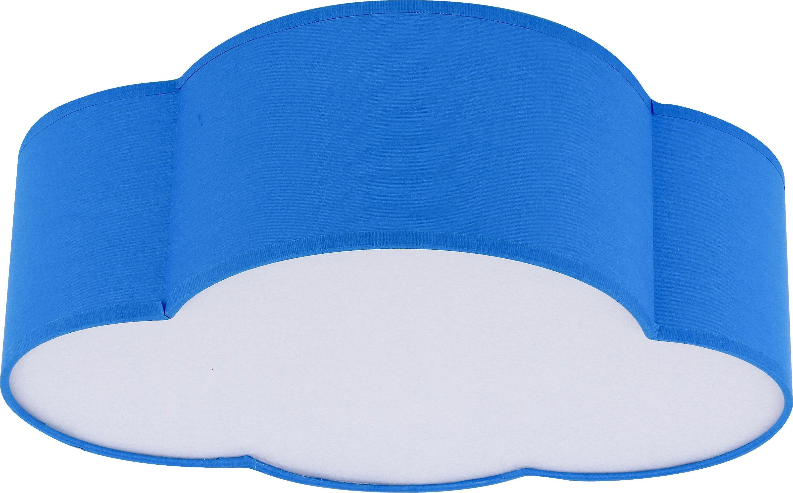 Plafon Cloud Mini 2 punktowy niebieski 4230 - TK Lighting // Rabaty w koszyku i darmowa dostawa od 299zł !
