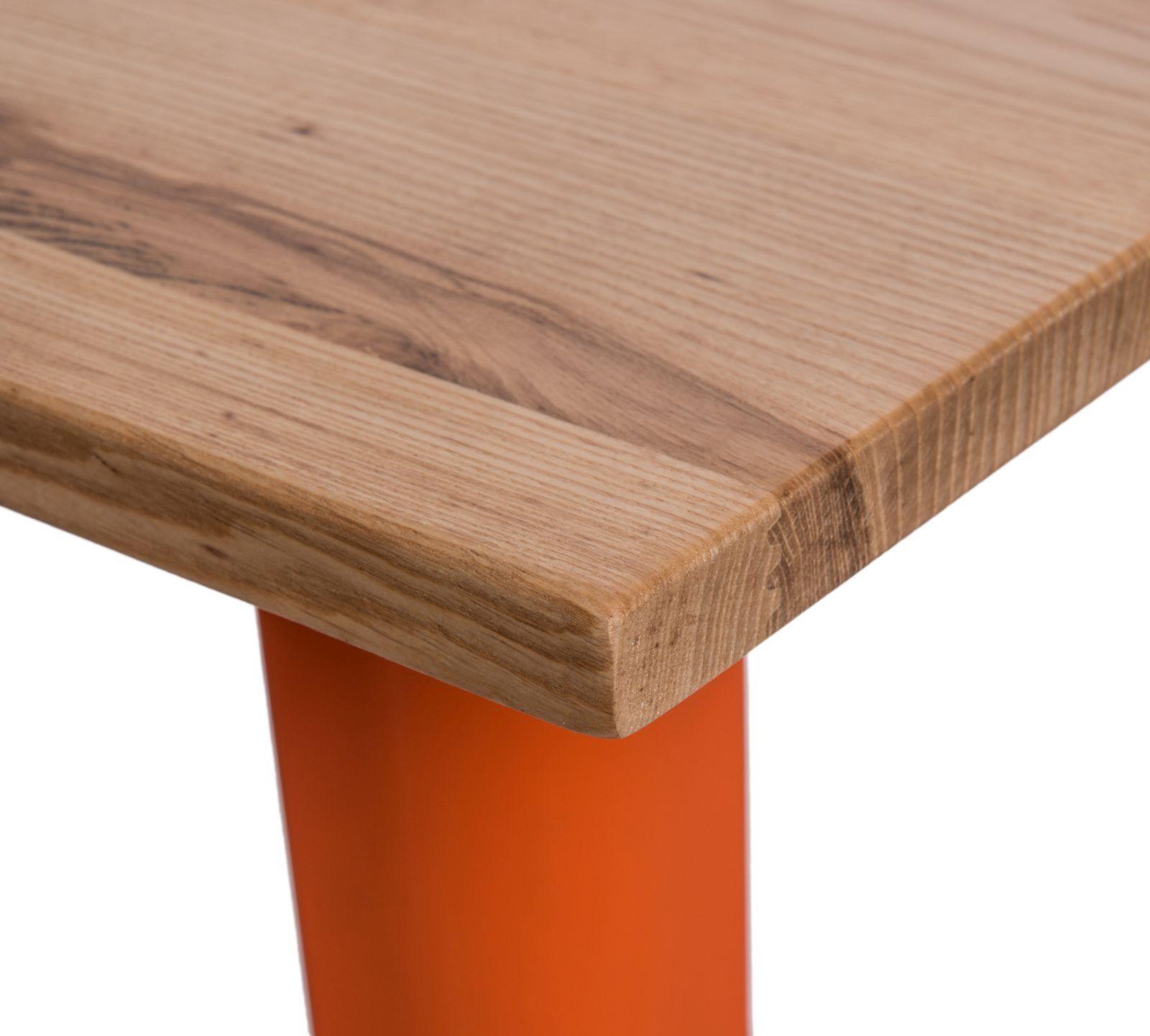 D2 Stół barowy Paris Wood pomarańcz jesion