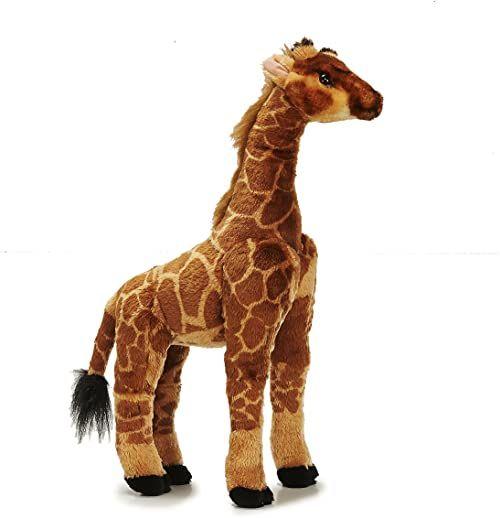 Sunny Toys 32552 - pluszowa żyrafa stojąca, około 50 cm