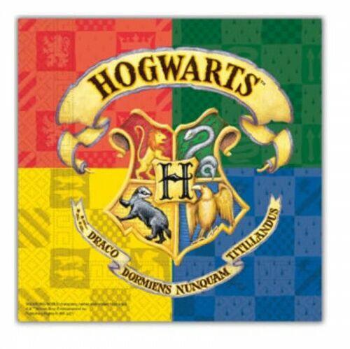 Serwetki papierowe Harry Potter Hogwarts, 20 szt.