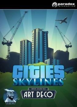 Cities Skylines: Art Deco - Klucz aktywacyjny Steam Automatyczna wysyłka w ciągu 5 minut 24/7!