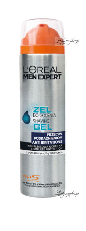 L''Oréal - MEN EXPERT - ANTI IRRITATIONS SHAVING GEL - Żel do golenia przeciw podrażnieniom - 200 ml