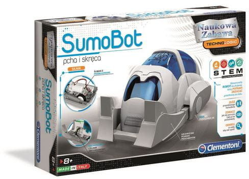 Robor Sumobot pcha i skręca Technologic