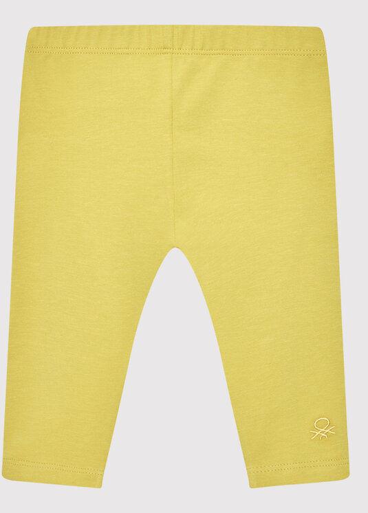 Legginsy 3MT1I0042 Żółty Slim Fit