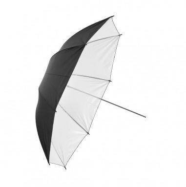 Parasolka dwuwarstwowa 110cm Biała
