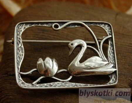 Telma - srebrna broszka