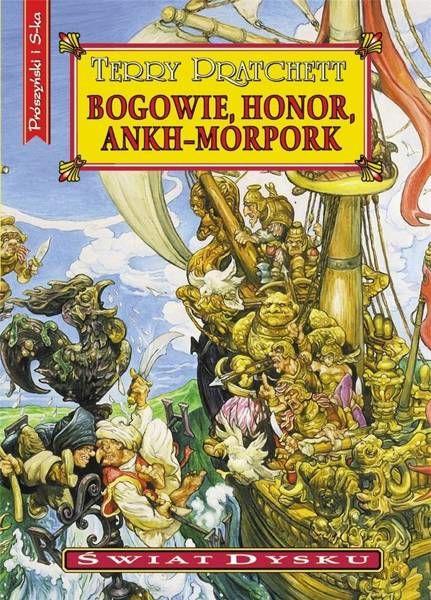 Świat Dysku. Bogowie, honor, Ankh-Morpork (wyd. 2020) - Terry Pratchett