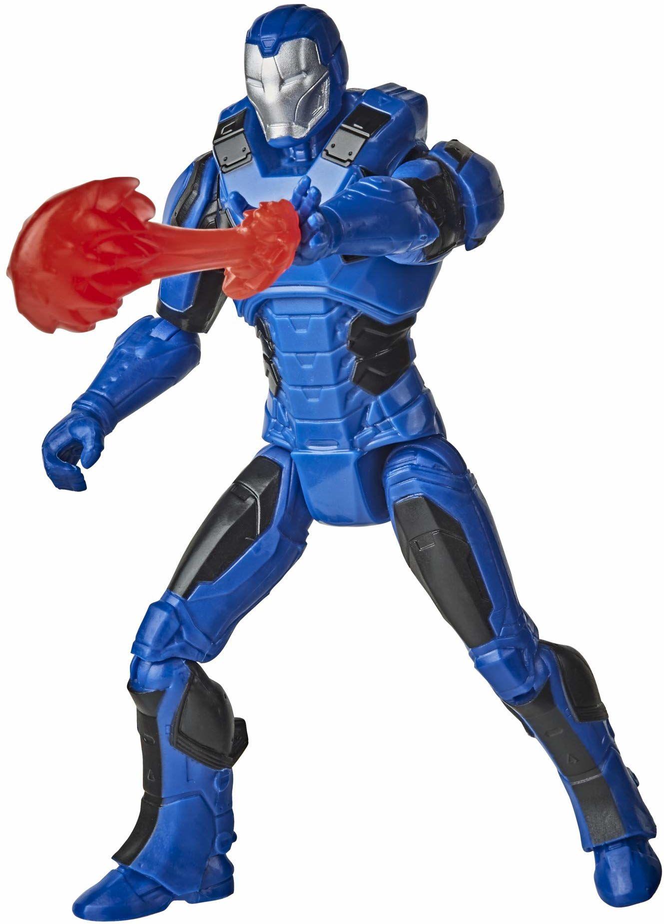 Hasbro Marvel Gamerverse 15 cm Iron Man figurka zabawka, z nastrojową skórą pancerną, od 4 roku życia
