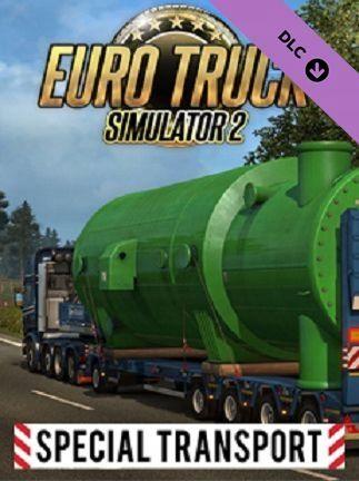 Euro Truck Simulator 2 - Special Transport - Klucz aktywacyjny Steam Automatyczna wysyłka w ciągu 5 minut 24/7!