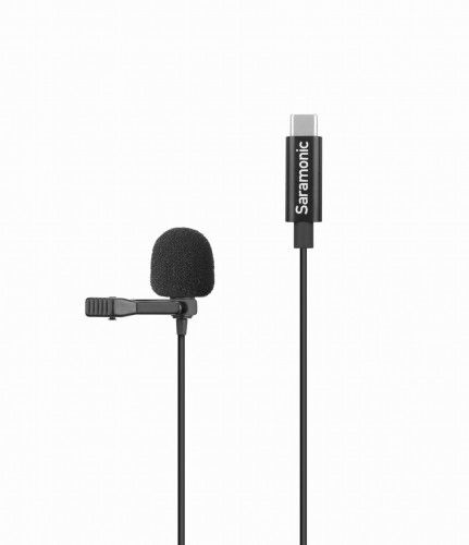 Mikrofon krawatowy Saramonic LavMicro U3A ze złączem USB-C