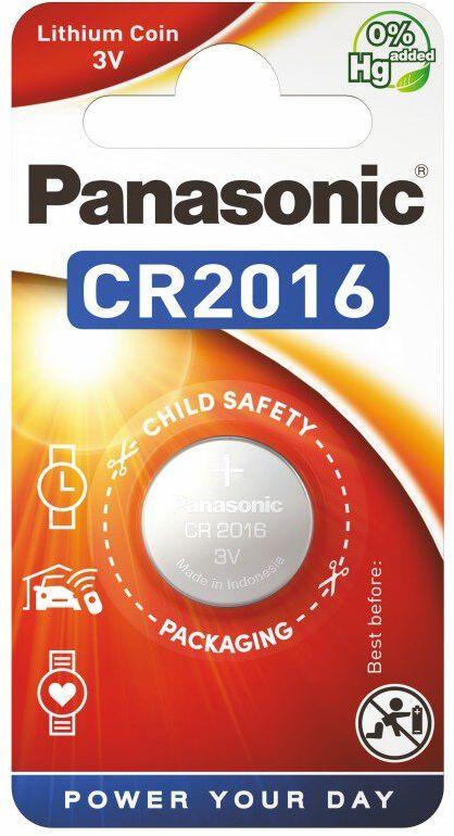 PANASONIC bateria litowa - guzikowa CR2016 1szt