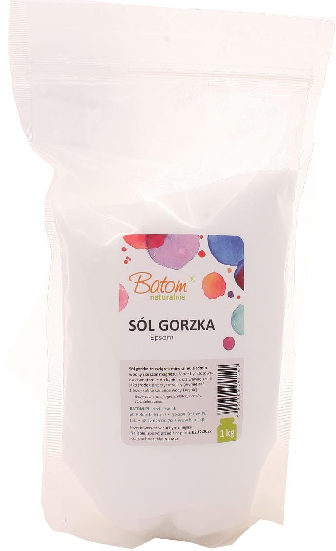 Sól gorzka Epsom - Batom - 1000g