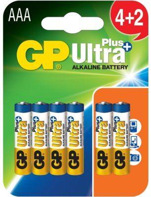 Bateria GP 24AUP-U 4+2 AAA ULTRA+. > DARMOWA DOSTAWA ODBIÓR W 29 MIN DOGODNE RATY
