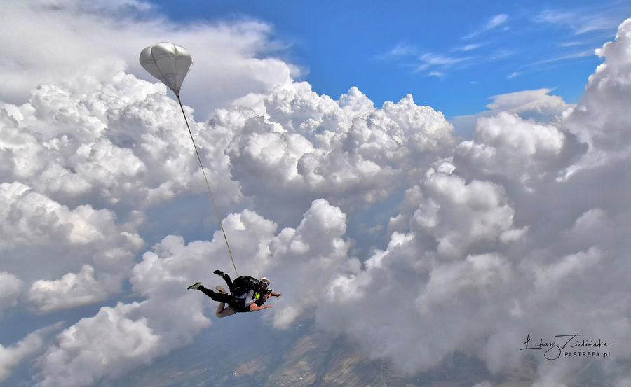 Skok ze spadochronem z wideorejestracją - Gliwice