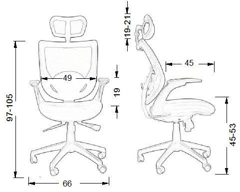 KB-8904 fotel gabinetowy