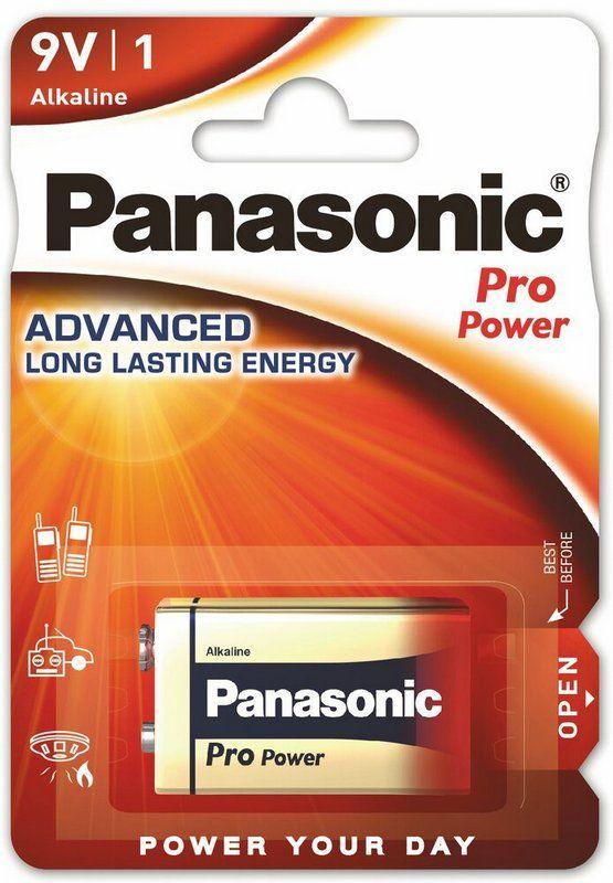 PANASONIC PRO POWER bateria alkalicz 6LR61 9V 1szt