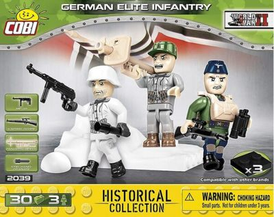 Klocki COBI Historical Collection - German Elite Infantry (2039)