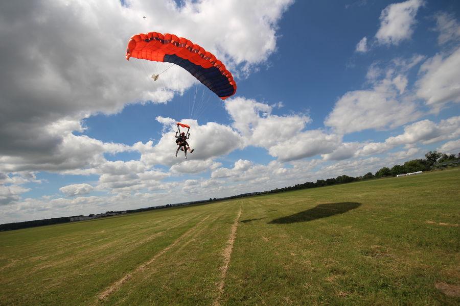 Skok ze spadochronem z wideorejestracją - Trójmiasto