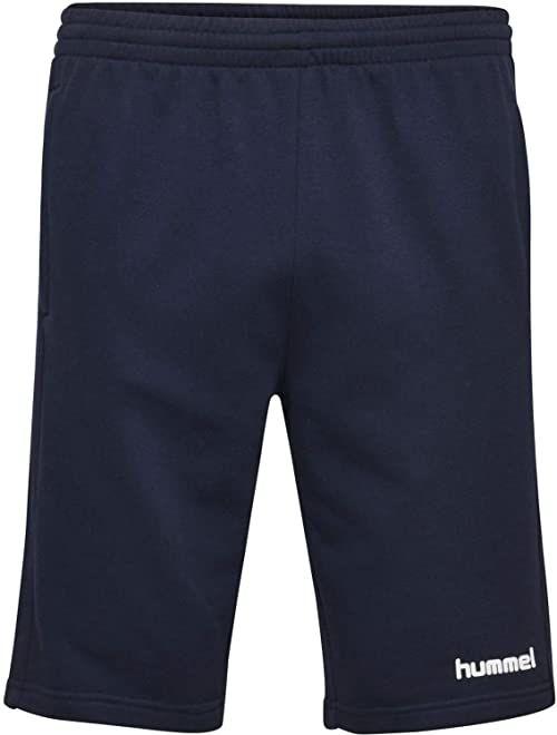 hummel męskie spodenki bermudy bawełniane Hmlgo - bermudy szorty dla mężczyzn bermudy Marine M