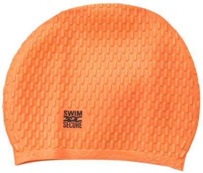 Swim secure bubble swim hat pomarańczowy