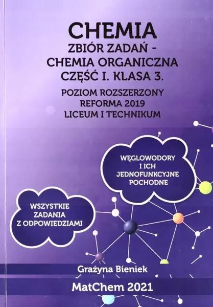 Chemia Zb. zadań 3 LO i technikum - cz.1 PR - Grażyna Bieniek