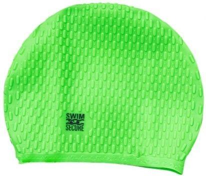 Swim secure bubble swim hat zielony