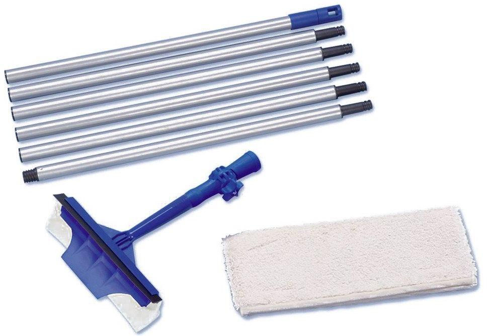 Myjka do szyb MAXI + długa składana rączka, zasięg roboczy do 3 m, WENKO