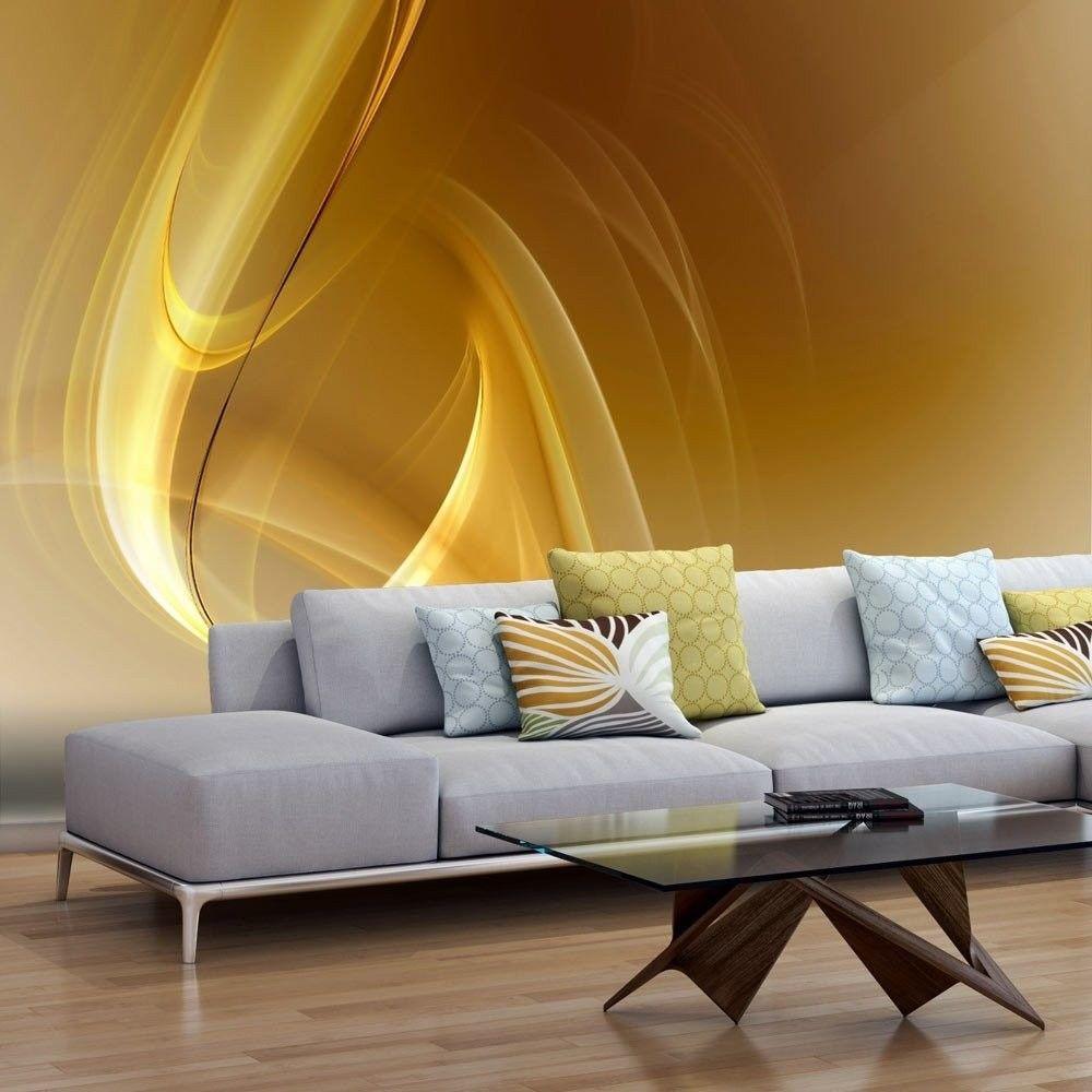 Fototapeta - gold fractal background