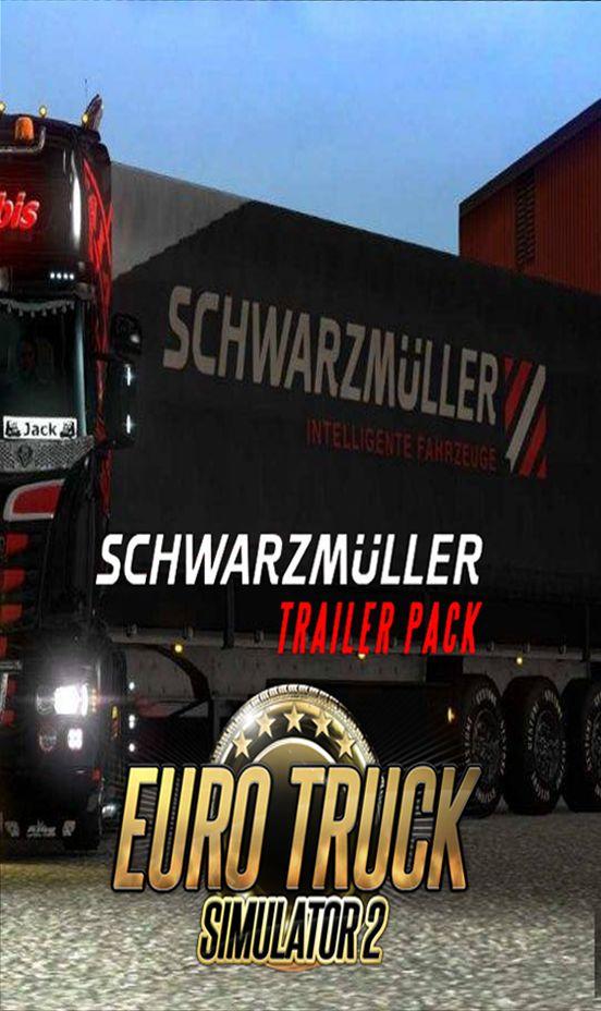 Euro Truck Simulator 2 Schwarzmüller Trailer Pack - Klucz aktywacyjny Steam