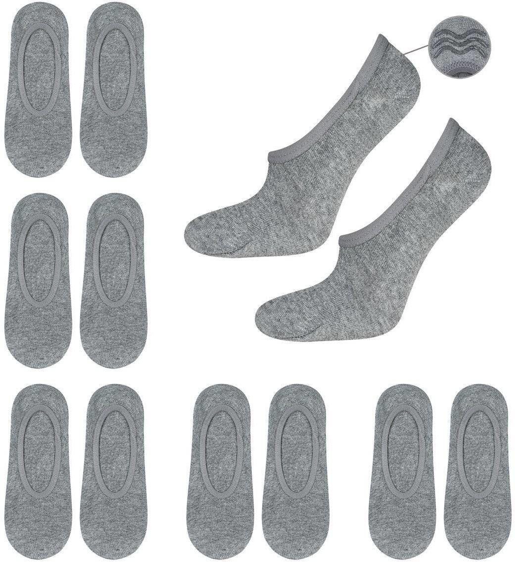 6x Stopki męskie SOXO bawełniane z silikonem