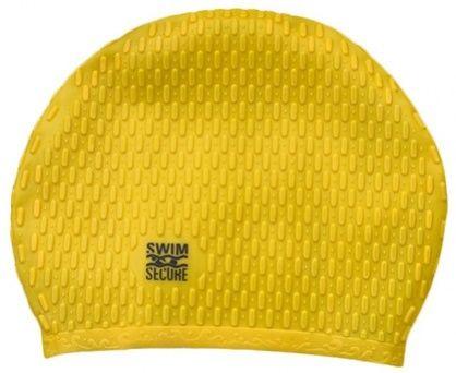 Swim secure bubble swim hat żółty