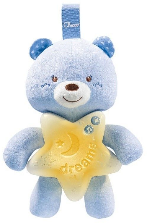 Chicco First Dreams - Miś na dobranoc Niebieski 91562