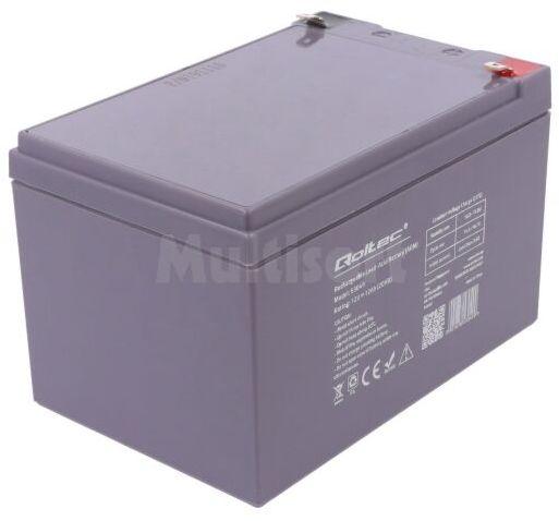 Akumulator kwasowo-ołowiowy QOLTEC 12V 12Ah AGM 150x98x95mm