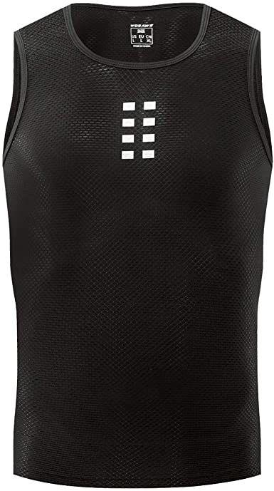WOSAWE BL209 męska koszulka potówka bez rękawów, czarna Rozmiar: XL,BL209-BLK