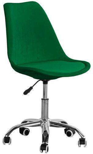 Krzesło obrotowe zielone ART235C/ welur