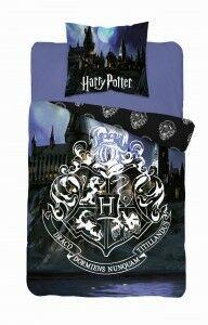 Pościel Harry Potter 140x200 licencyjna bawełniana Sowa Jadwiga