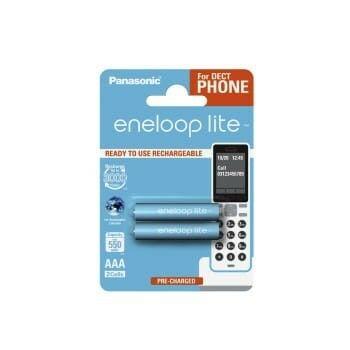 PANASONIC ENELOOP Lite AAA 550 2BP DECT PHONES