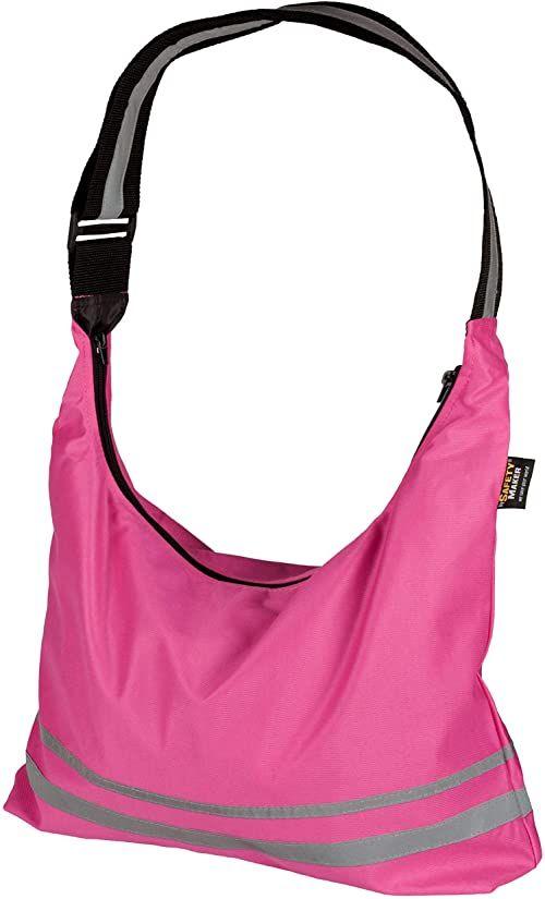 Safety Maker składana torba na zakupy, różowa, jeden rozmiar