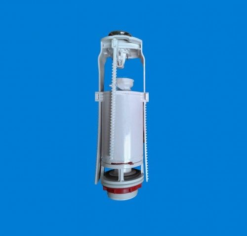 Zawór spustowy przycisk chrom 3/6L, Regulacja 320 - 380mm