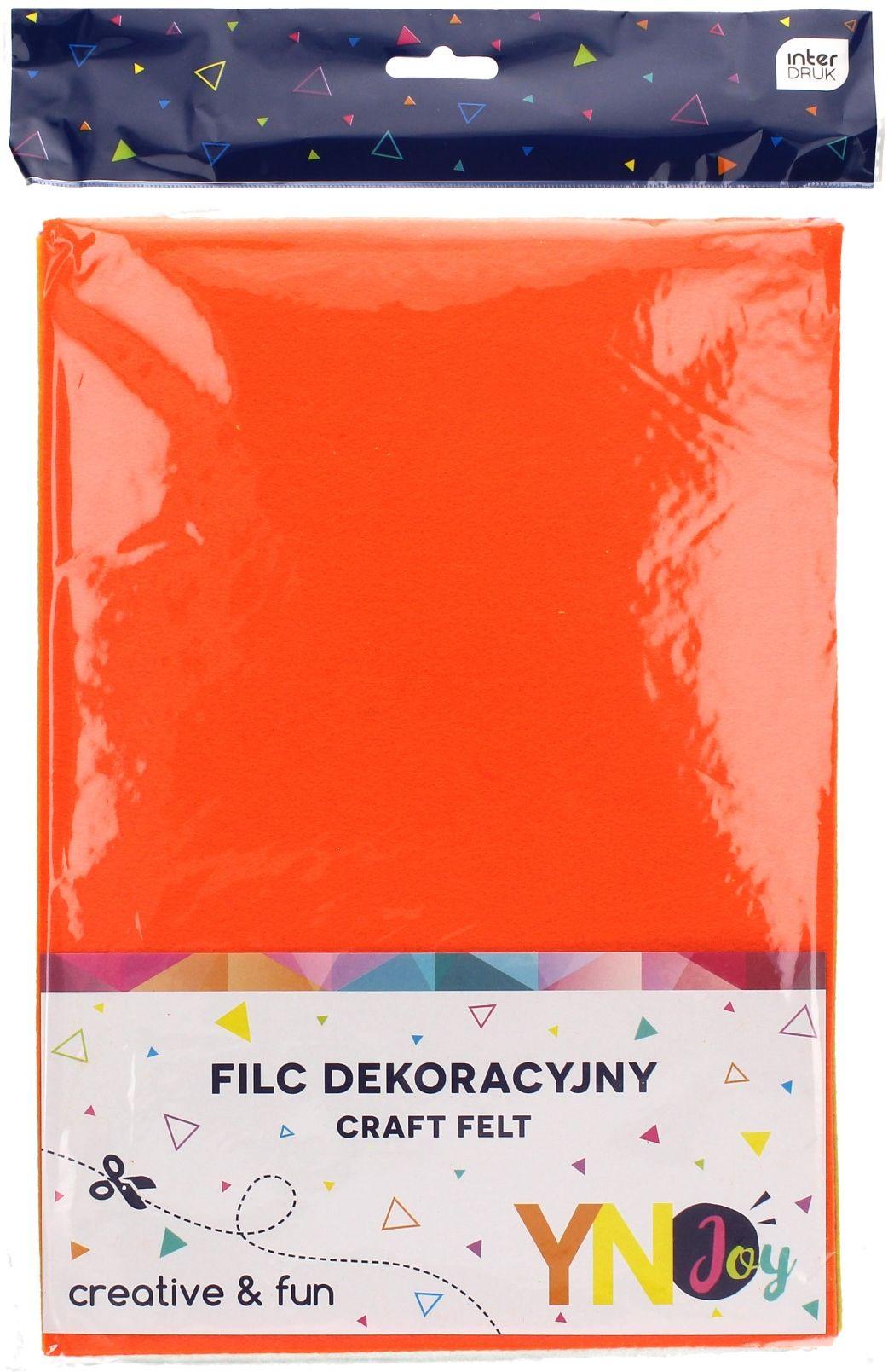 Filc dekoracyjny fluo (8) YN JOY