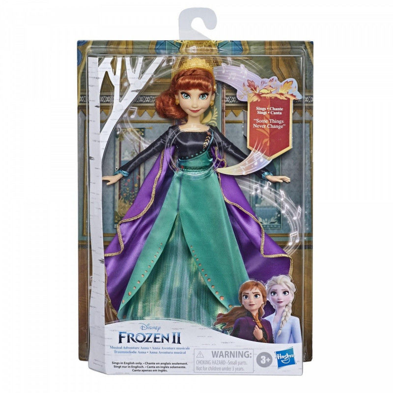 Lalka Frozen 2 Królewska śpiewająca Anna
