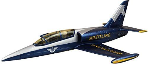 Amewi 24095 AMXFlight L-39 Albatros, Breitling Design, RC samolot, zdalnie sterowany, EPO, PNP, niebiesko-srebrny
