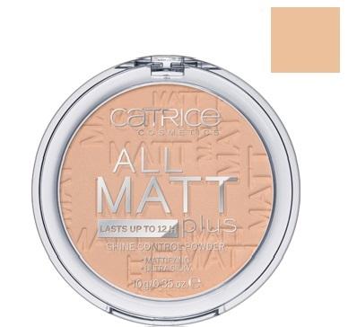 Catrice Cosmetics All Matt Plus Puder matujący 020 Nude Beige - 10g Do każdego zamówienia upominek gratis.